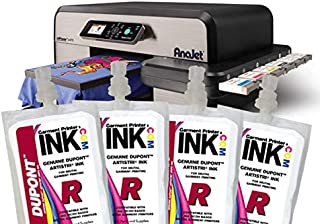 DuPont White ink Bag 4-pack for the Anajet mPower MP5 and MP10