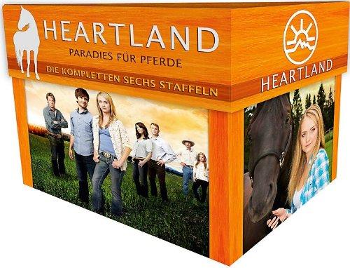 Heartland - Ein Paradies für Pferde - Die kompletten sechs Staffeln [Limited Edition] [34 DVDs]