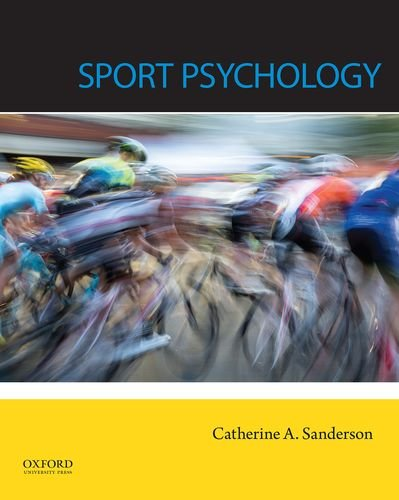 Compare Textbook Prices for Sport Psychology 1 Edition ISBN 9780199917440 by Sanderson, Catherine