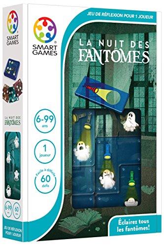 SmartGames La Nuit Des Fantômes Child Niño/niña - Juegos educativos (Multicolor, Child, Niño/niña, 6 año(s), 60 Pieza(s), 170 mm)