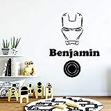 Tianpengyuanshuai Hermosa Etiqueta de la Pared Benjamin Personalidad Creativa decoración de la habitación de los niños decoración de la Pared 33X48cm
