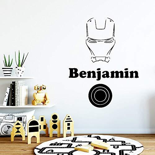 Tianpengyuanshuai Wunderschöne Benjamin Wandaufkleber Persönlichkeit kreative Kinderzimmer Dekoration Wanddekoration 33X48cm