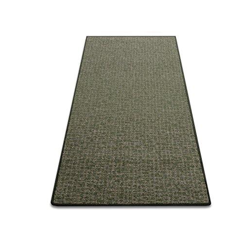 Floordirekt Teppichläufer Bermuda | Teppich Brücke Läufer | Meterware robust und unempfindlich | Auch als Stufenmatten erhältlich | 6 Farben | Viele Größen (Grün, 50x100 cm)