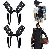 2/PK Backpack Attachment Carrier Hanger - Electric Skateboard or Regular Skateboard Longboard...