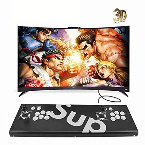 Consolas de juegos - 3D Pandora Game Box, 3160 Retro HD Juegos Home Arcade Game Console, soporte multijugador en línea, salida de audio AUX para PC, TV