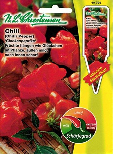 Chrestensen Gewürzpaprika / Chili 'Glockenpaprika' Saatgut Samen