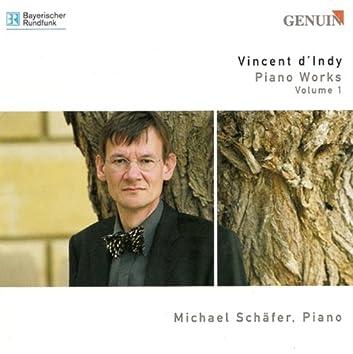 Indy, V. D': Piano Music, Vol. 1 - Poeme Des Montagnes / Tableaux De Voyage / Theme Varie, Fugue Et Chanson