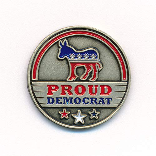 hegibaer Demokratische Partei Democratic Party Esel USA Nostalgie Edel Pin Anstecker 0912