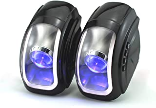 ANTAMS Waterproof Motorcycle Electrombile bluetooth Speaker With FM Function Light Effect Audio Radio Led accessories