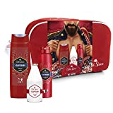 Old Spice 8001841410104 Captain Travel Set de Regalo para Hombres