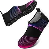 DigiHreo Water Shoes Barefoot Quick-Dry Outdoor Beach Swim Sports Aqua Yoga Socks Slip-on for Women Men