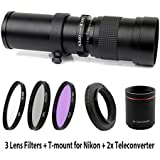Lightdow 420-1600mm F/8.3-16 Super Telephoto...