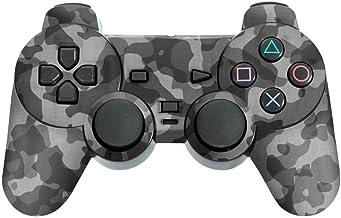 Skin Adesivo para PS2 Controle - Camuflada Cinza