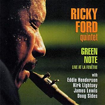 Green Note (Live at La Fenêtre)