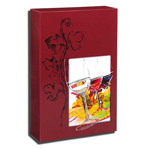50x 3er Wein- und Geschenkkarton, Präsentkarton