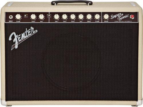 Fender Super-Sonic 22 22-Watt 1x12-Inch Guitar Combo Amp - Blonde