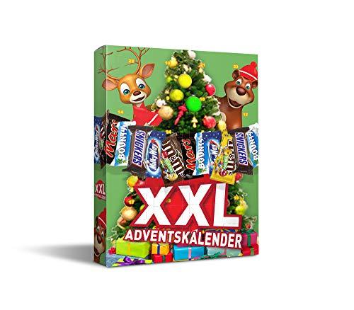 XXL-Adventskalender mit m&m friends, 1er Pack (1 x )