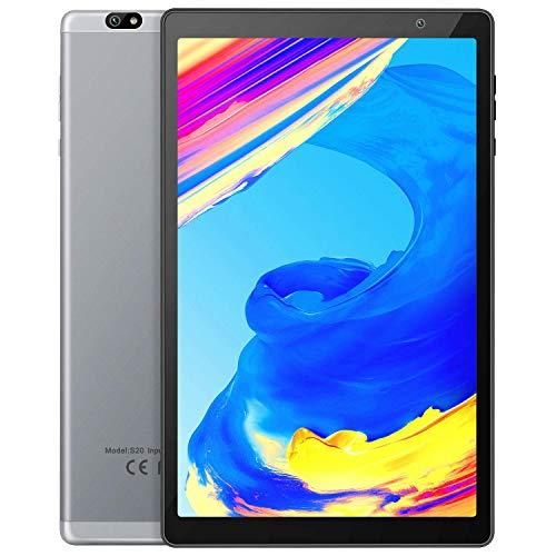 VANKYO MatrixPad S20 Tablette Tactile 10 Pouces HD, 8 Cœurs CPU, 3 Go RAM, 64 Go Stockage, 8 MP Caméra Arrière, 5 MP Caméra Frontale, Bluetooth 5.0, 5G WiFi, Gris