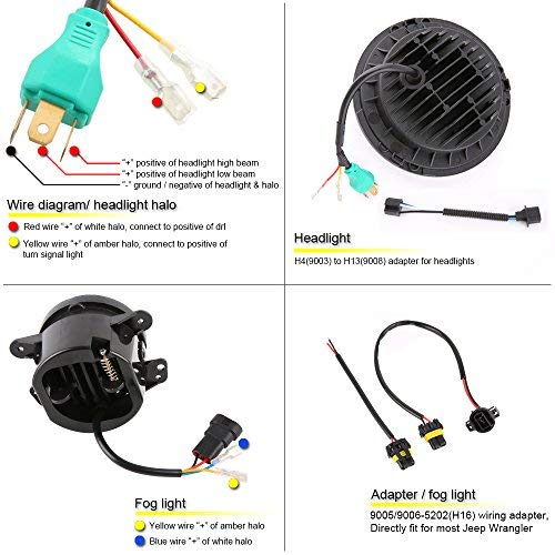 7 Led Halo Jeep Headlight Wiring Diagram - Wiring Diagram Replace  grow-check - grow-check.miramontiseo.it