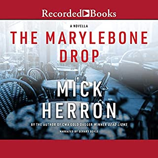 The Marylebone Drop audiobook cover art