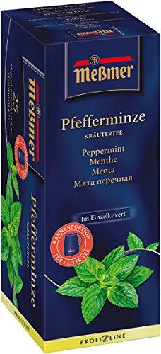 Meßmer Pfefferminztee ProfiLine, 4er Pack (4 x 96 g)