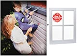 Saf-escape 2 Story, 15 Ft, Steel Chain Fire Escape Ladder Includes FREE Child...