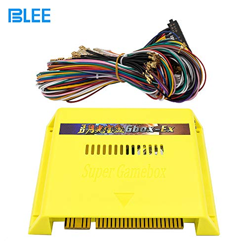 BLEE Pandoras Box 3D Arcade Game Jamma Board 3005 in 1 with 50 3D Games HD Multi Video Game Board with Arcade Cable