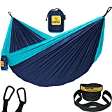 Wise Owl Outfitters Hammock Camping Double & Single with Tree Straps -...