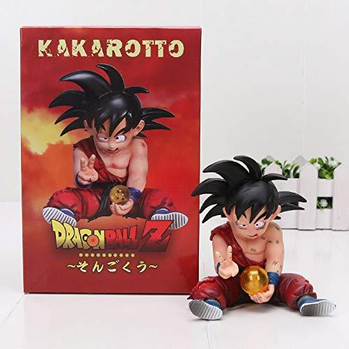 Original Figura Dragon Ball Z Goku nino Kakarotto Kakaroto Resina Juguete Coleccionable Espectacular Akira