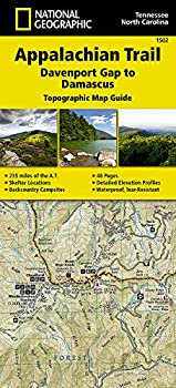 Appalachian Trail Davenport Gap to Damascus [North Carolina Tennessee]  National Geographic Topographic Map Guide   National Geographic Topographic Map Guide 1502