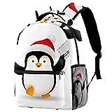 Doodle-Animal-Words-Pattern Mochila escolar escolar bolsa de viaje mochila de senderismo mochila de viaje para mujeres y hombres