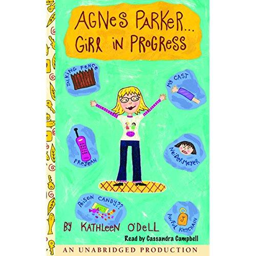 Agnes Parker...Girl in Progress audiobook cover art