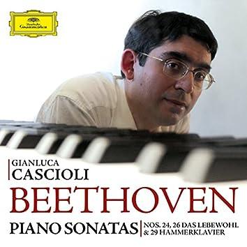 Beethoven: Piano Sonatas Nos. 24, 26 & 29