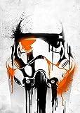 Star Wars Stormtrooper Metallposter : Banksy