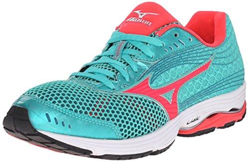 Mizuno Wave Sayonara 3 Zapatillas de correr para mujer, (Malibu Azul/Rosado), 36 EU