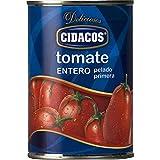 Cidacos Tomate Entero 15 x 400g Total 6kg