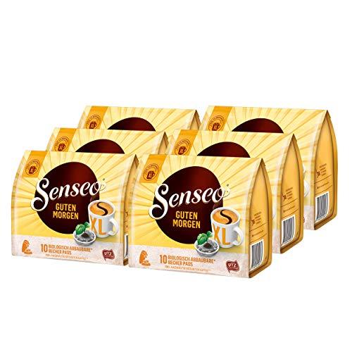 Senseo Kaffeepads Guten Morgen XL, Stark & Intensiv, Kaffee Pads, 6er Pack