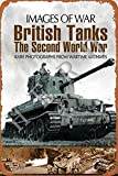 XREE Cartel de lata con diseño de la Segunda Guerra Mundial de British Tanks de la Segunda Guerra Mundial, de 30 x 40 cm