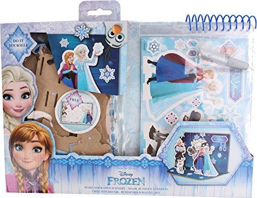 Factorycr- Disney FR17901 Set Escenario Frozen 36X20,5X3 cms, Multicolor