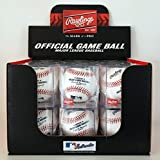 Rawlings Official MLB Baseball 12 Pack - (One Dozen Balls) Display Cubes...