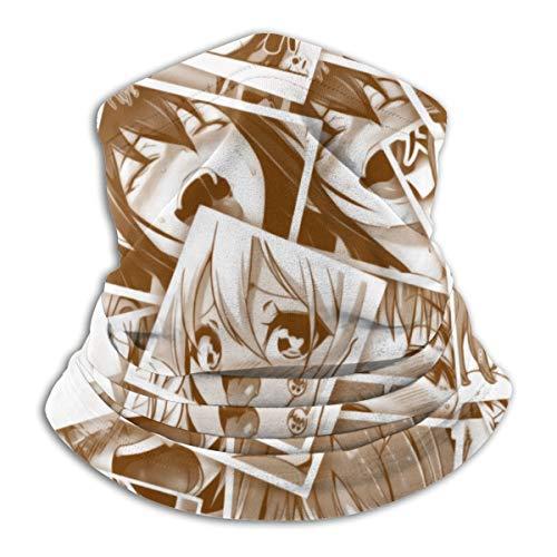 Neck Gaiter Headwear - Ahegao Hentai Collage Face...