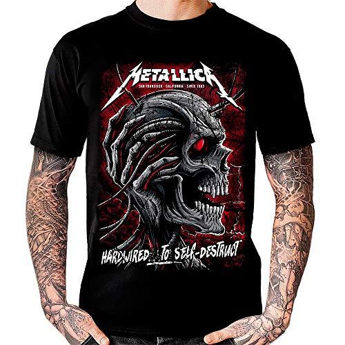 Camiseta Metallica - Hardwired to Self-Destruct. (L)