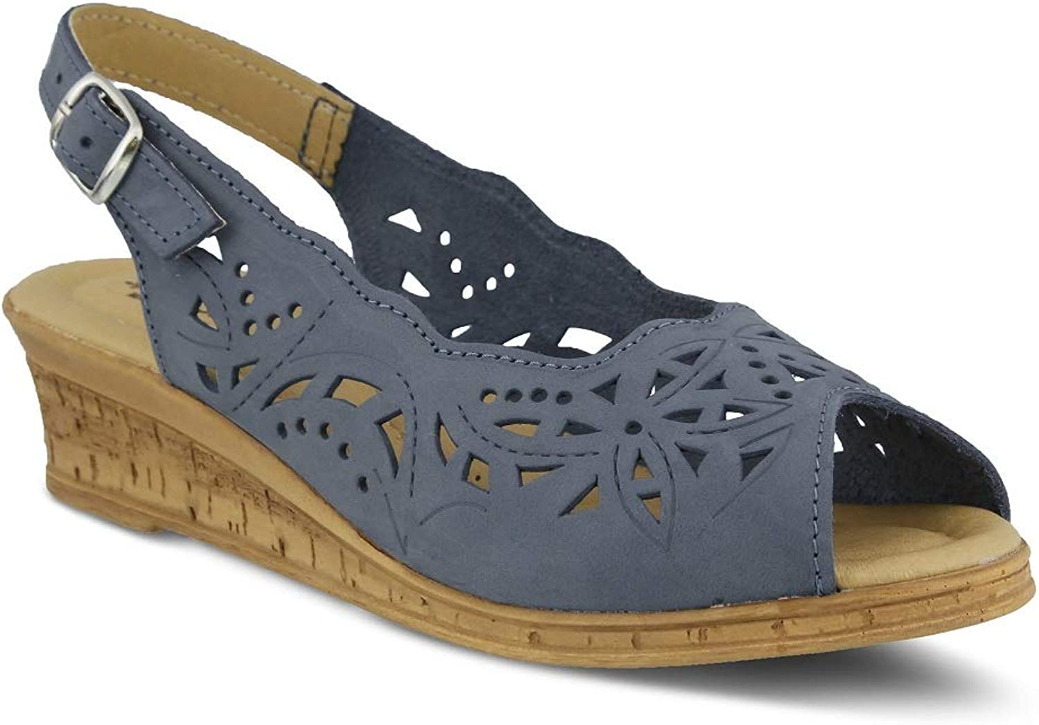Spring Step Women's Orella Sandals   color bluee   Leather Sandals