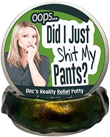 Oops Did I Shit My Pants Putty Stress Relief Poop Gifts Funny Gag Gifts for Friends Gifts Stocking product image