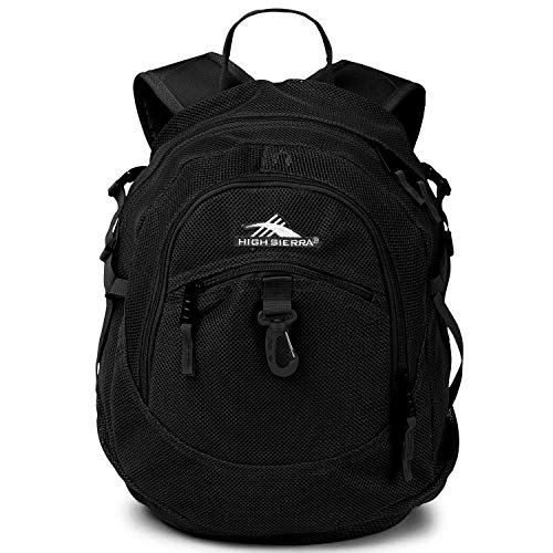 High Sierra Airhead Mesh Backpack, 19.5 x 13 x 7-Inch, Black