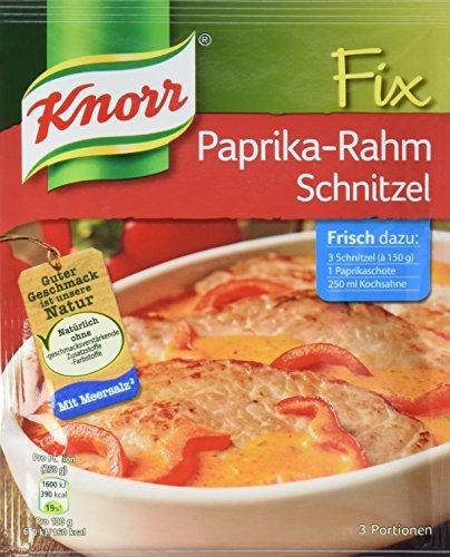Knorr Fix Paprika-Rahm Schnitzel 3 Portionen (21 x 43 g)