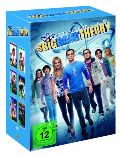 Cover The Big Bang Theory - Staffel 1-6 (19 Discs) (exklusiv bei Amazon.de)