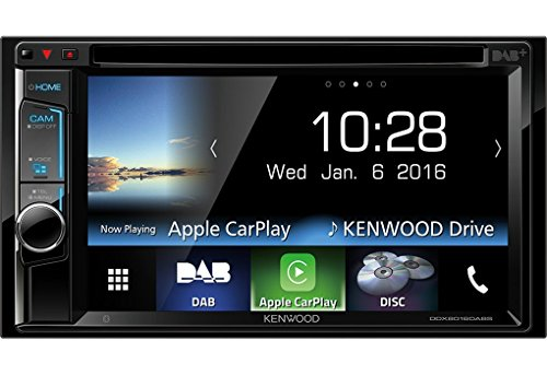 Kenwood ddx-8016dabs WVGA USB/dvd-receiver mit integrierter Bluetooth/DAB Tune, 15,7 cm