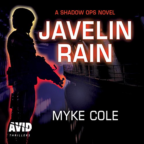 Javelin Rain audiobook cover art