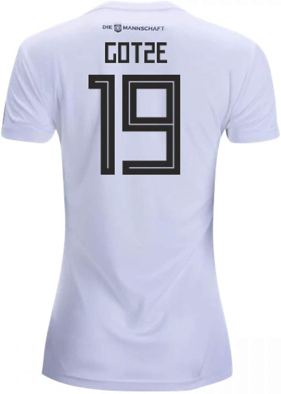 2018-19 Germany Home Womens Shirt (Gotze 19)